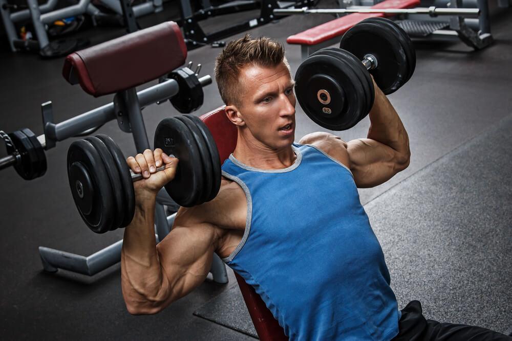 肩の筋肉を鍛えるならショルダープレス