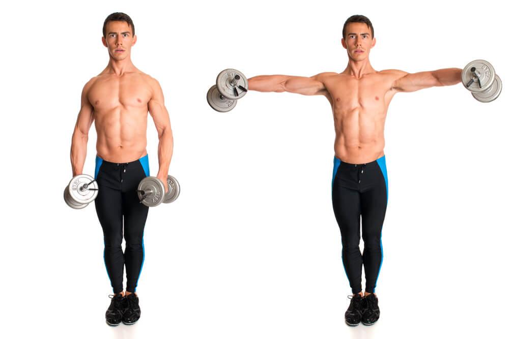 肩の筋肉を鍛えるならサイドレイズもおすすめ