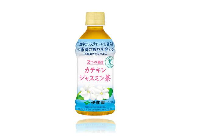 伊藤園から太らせないカテキンジャスミン茶が登場!しかも1本73円