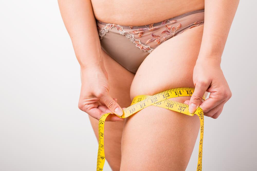 骨盤まわりが太い女性