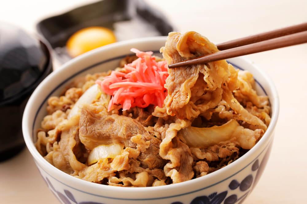 吉野家の牛丼を例にダイエットをシュミレート