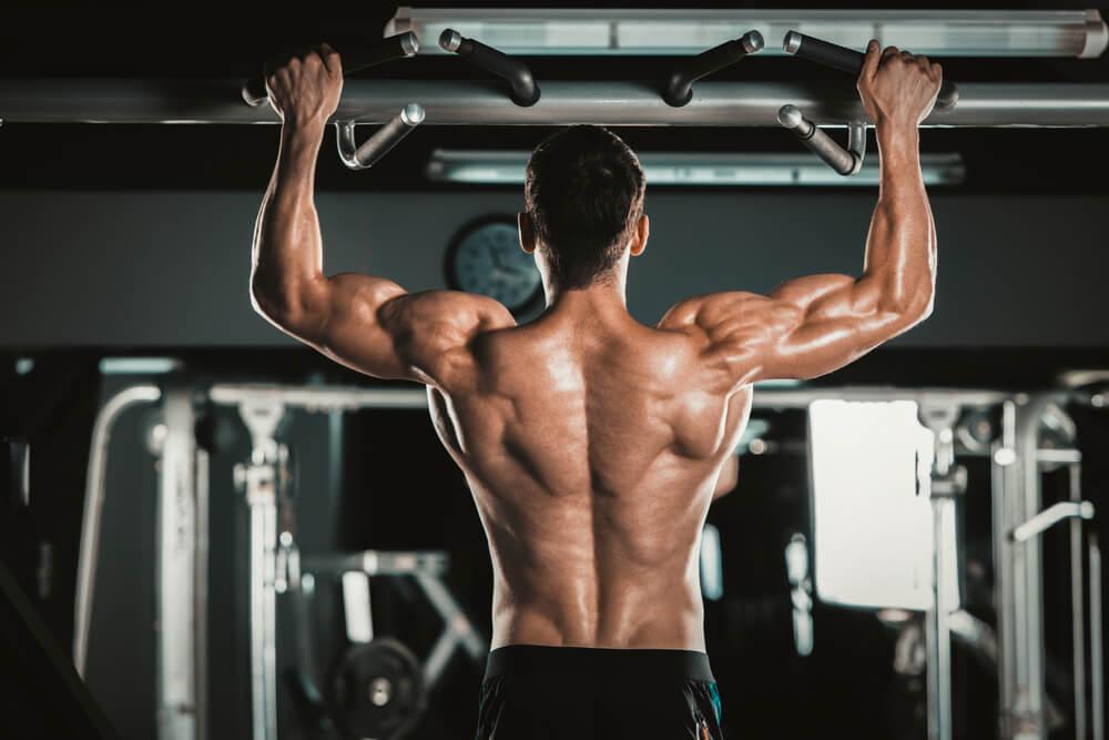 懸垂後の筋肉痛について